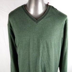 Cremieux Lightweight V-Neck Sweater Men's XL